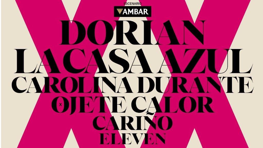 Dorian, La casa Azul o Carolina Durante son algunos de los artistas que actuarán en el FIZ 2020