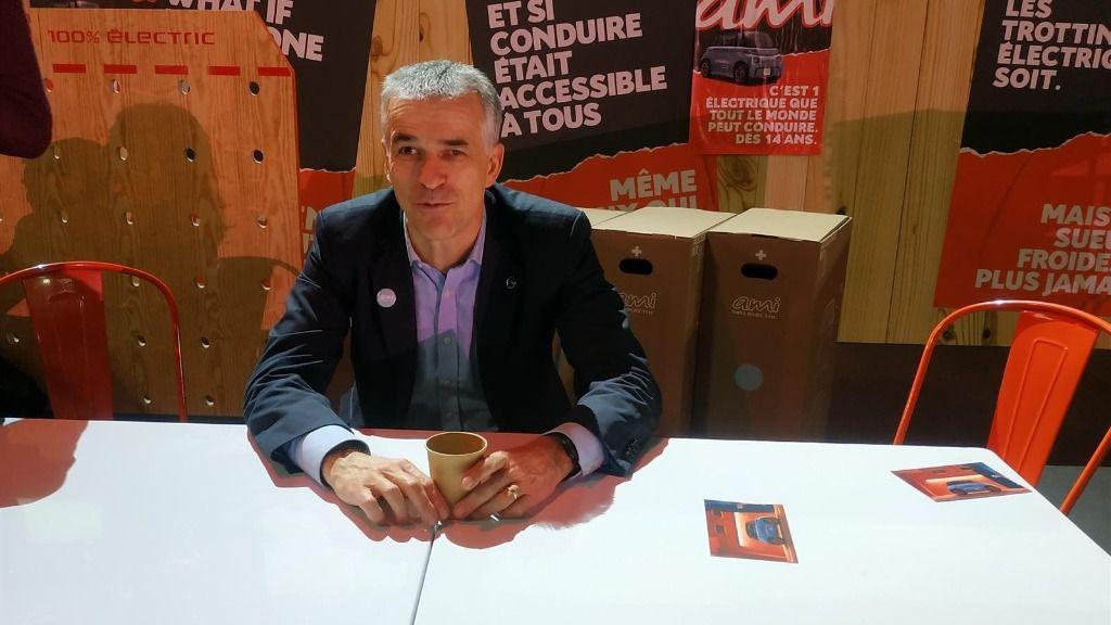 El consejero delegado de Citroën, Vincent Cobée.