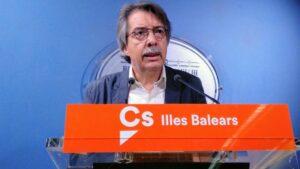 El cofundador de Ciudadanos y exportavoz en el Parlamento de Baleares, Xavier Pericay