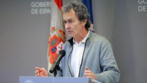 El director del Centro de Coordinación de Alertas y Emergencias del Ministerio de Sanidad, Fernando Simón