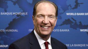 El presidente del Banco Mundial, David Malpass