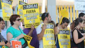 Adicae manifestación