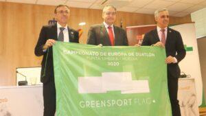 El estreno de la Bandera Verde del Deporte, presentado en el CSD