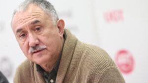 El secretario general de UGT, Pepe Álvarez