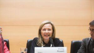 Victoria Rosell, juez y exdiputada de Podemos