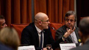 El exconseller de Asuntos Exteriores, Relaciones Institucionales y Transparencia de la Generalitat y preso del 'Procés', Raül Romeva