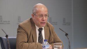 El vicepresidente de la Junta, Francisco Igea