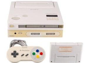 rototipo de Nintendo PlayStation