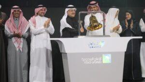 Ceremonia de salida a Bolsa de Saudi Aramco