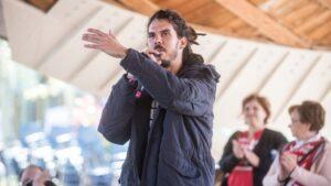Alberto Rodríguez, diputado de Podemos en el Congreso
