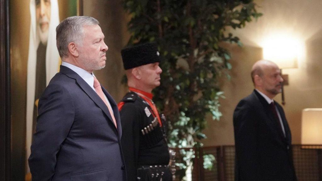 Rey Abdalá II de Jordania