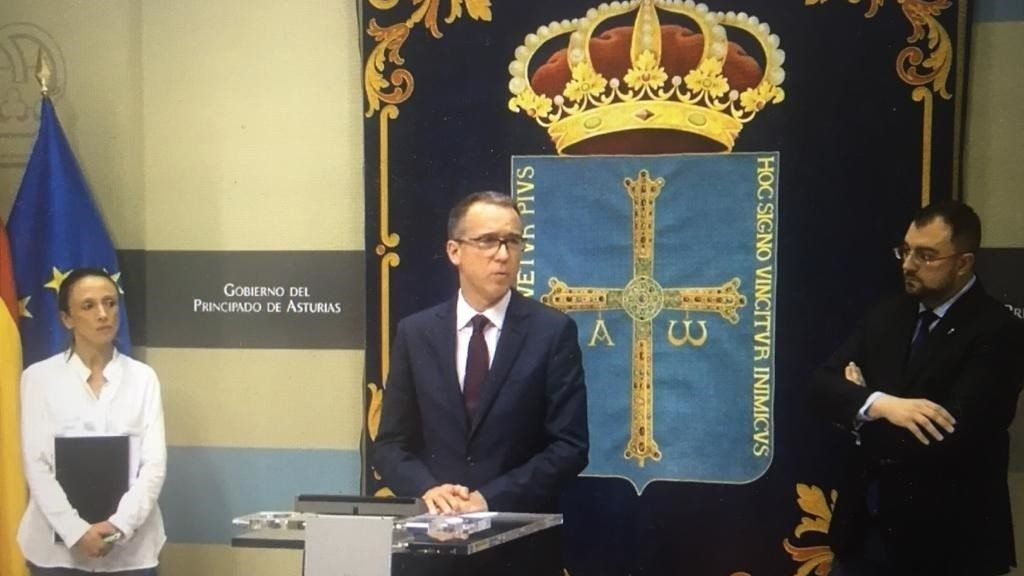 Rueda de prensa del Gobierno del Principado sobre medidas frente al coronavirus en Asturias