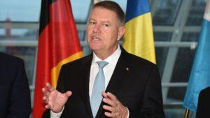 El presidente de Rumanía, Klaus Werner Iohannis