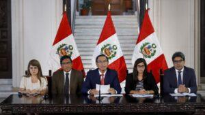 Martín Vizcarra anuncia medidas contra el coronavirus