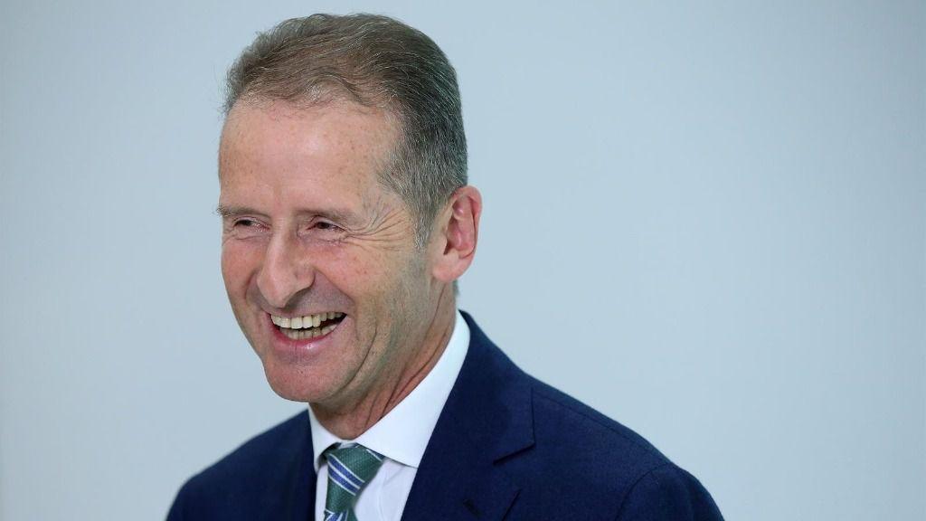 El consejero delegado del grupo Volkswagen, Herbert Diess.