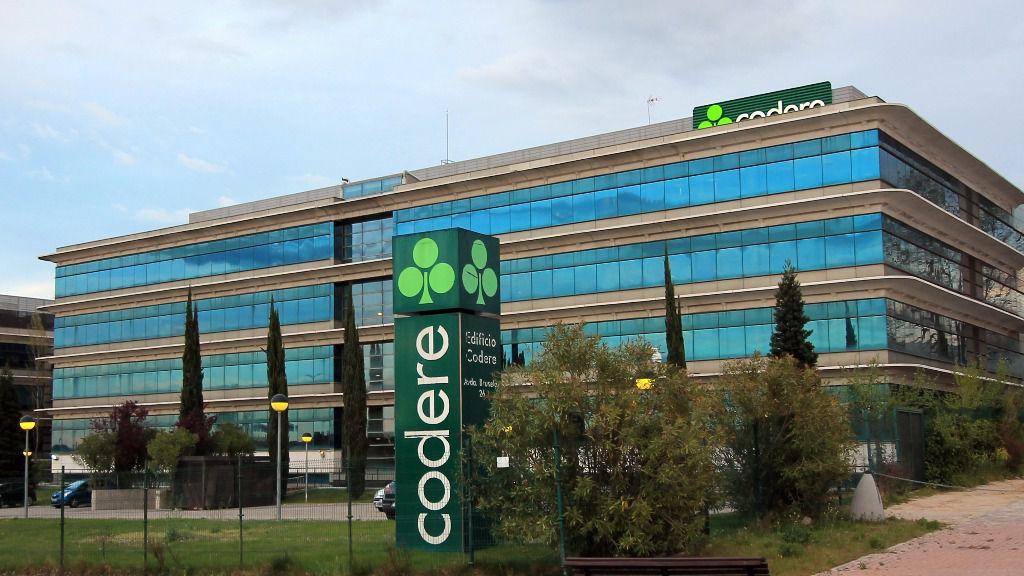 Sede central de Codere en Alcobendas