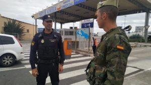 Militar y Policía Nacional en Almería