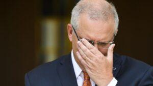primer ministro de Australia, Scott Morrison