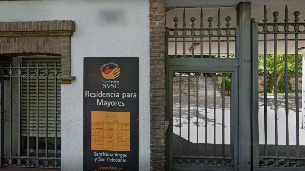 Residencia Santísima Virgen y San Celedonio en el distrito de Chamartín