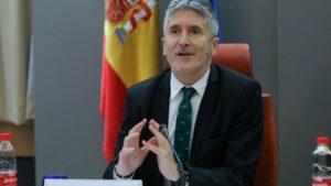 El ministro del Interior en funciones, Fernando Grande-Marlaska