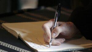 Testamento firma escribir