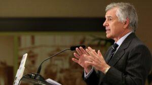 Juan Antonio Samaranch Jr, vicepresidente del Comité Olímpico Internacional (COI)