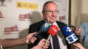 El presidente de la Cámara de España, José Luis Bonet