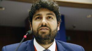 Fernando López Miras, presidente de la Región de Murcia