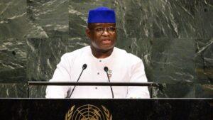 El presidente de Sierra Leona, Julius Maada Bio