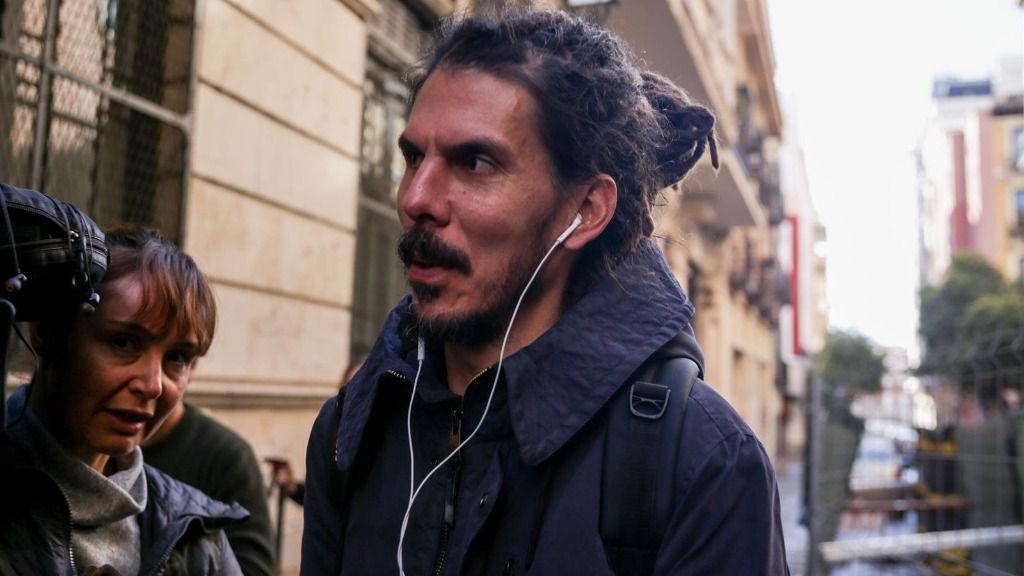 El secretario de Organización de Podemos y el diputado en las Cortes Generales, Alberto Rodríguez