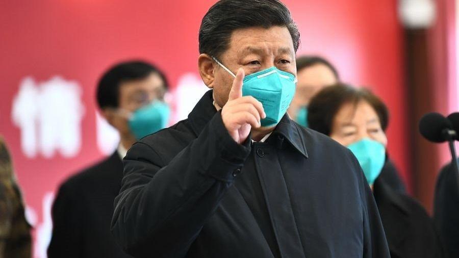El presidente de China, Xi Jinping, en Wuhan