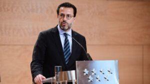 El consejero de Hacienda de la Comunidad de Madrid, Javier Fernández-Lasquetty