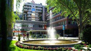 Edificio de Corporación Financiera Alba en el Paseo de la Castellana de Madrid