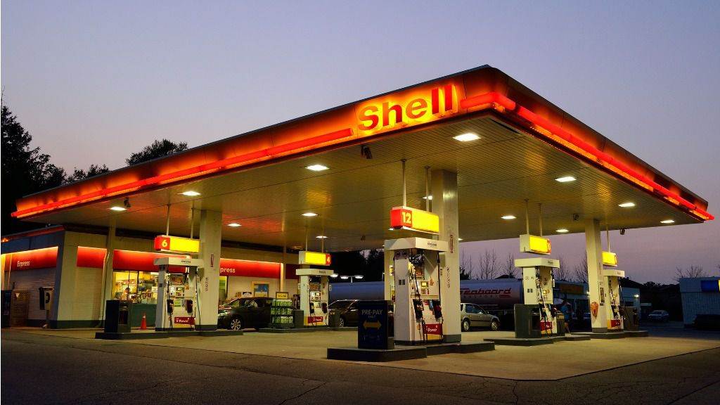 gasolinera shell gasolina petroleo
