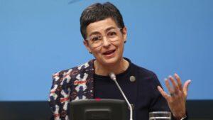 a ministra de Asuntos Exteriores, Unión Europea y Cooperación, Arancha González Laya