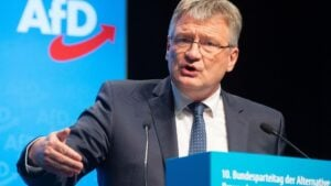 Uno de los fundadores de Alternativa para Alemania, (AfD), Joerg Meuthen