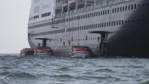 El crucero 'Zaandam'
