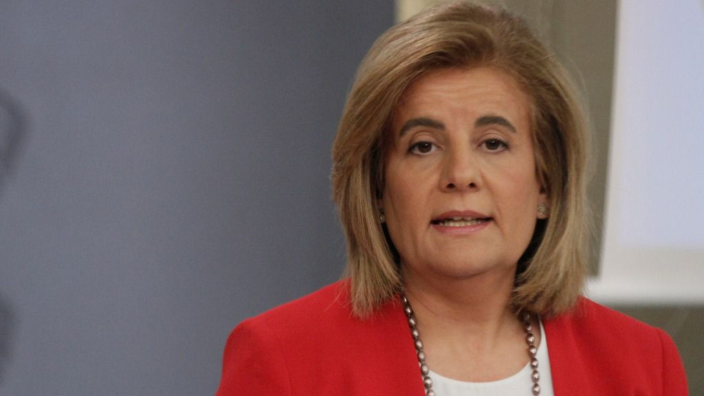 Fátima Báñez, exministra de Empleo