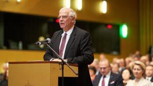 El Alto Representante de Política Exterior y de Seguridad Común de la UE, Josep Borrell