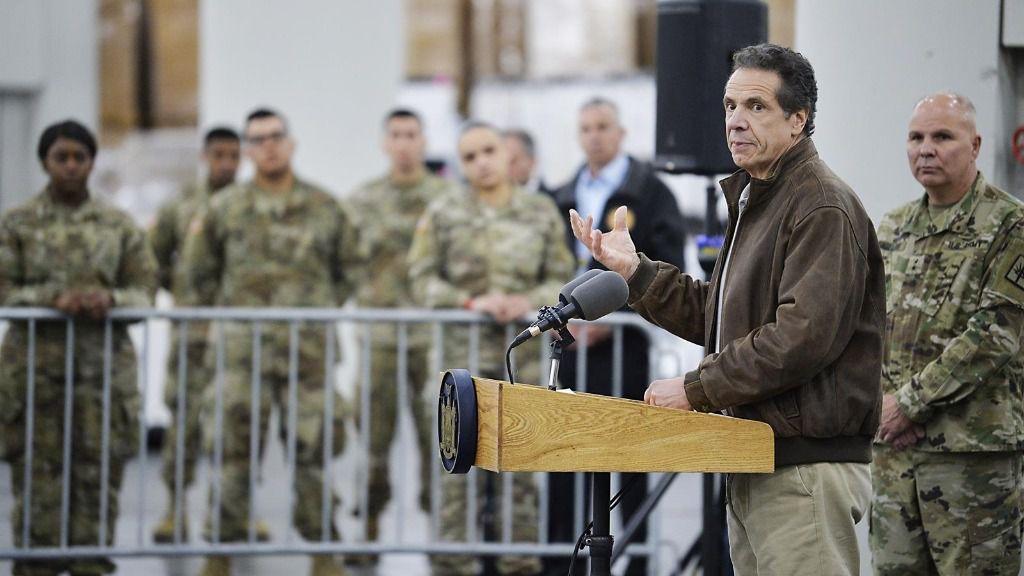 El gobernador del Estado de Nueva York, Andrew Cuomo