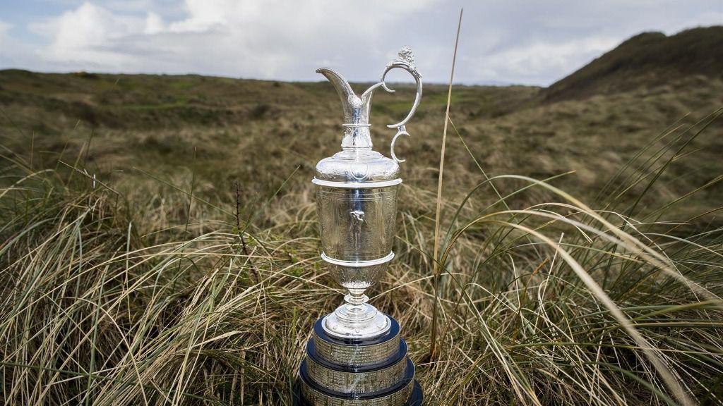 Imagen de la Jarra de Clarete, trofeo que se da al ganador del Abierto Británico de golf