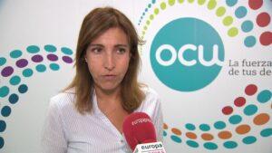 La portavoz de la OCU, Ileana Izverniceanu