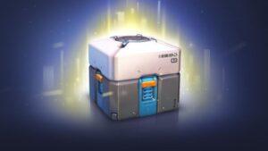 Imagen de una caja de botín del juego Overwatch.