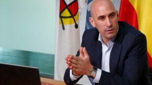 El presidente de la RFEF Luis Rubiales