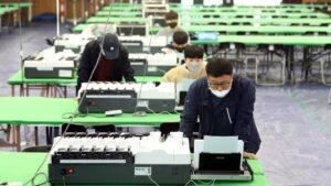 Elecciones en Corea del Sur en medio de la pandemia del coronavirus