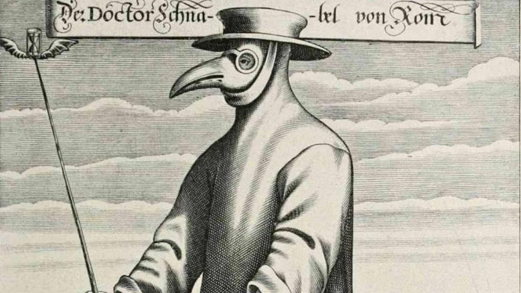 Documento del siglo XVII sobre la peste
