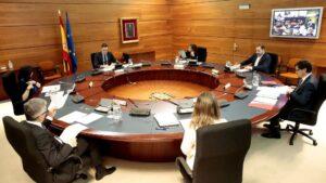 Pedro Sánchez y el Consejo de Ministros