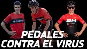 Gómez Noya, Miguel Induráin y Carlos Coloma participan en la iniciativa solidaria Pedales contra el virus