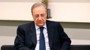 Florentino Pérez, presidente de ACS y del Real Madrid