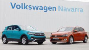 Volkswagen T-Cross y Volkswagen Polo producidos en la factoría de Volkswagen Navarra. - VOLKSWAGEN NAVARRA